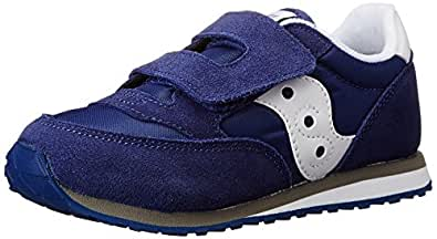 Saucony Jazz Hook & Loop Sneaker (Toddler/Little Kid),Cobalt Blue,4 M US Toddler