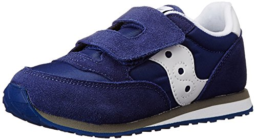 Saucony Jazz Hook & Loop Sneaker (Toddler/Little Kid), Cobalt Blue, 6 M US Toddler Country Kids Nylon Tights