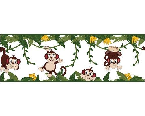 Monkey Business Decorative Wall paper Border