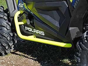 Super ATV Polaris RZR 900 / 1000 Red Heavy Duty Nerf Bars