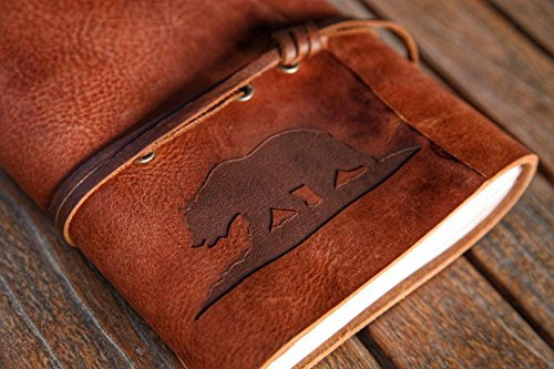 California Bear Leather Journal | Handmade in the United States by Trekker Leather