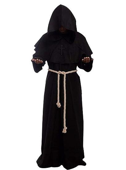 Capucha del Traje De Halloween Capa - Medieval Vestir Traje ...