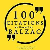 100 citations de Honoré de Balzac | Honoré de Balzac