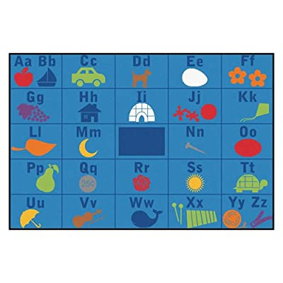 Alphabet Seating KID$ Value PLUS Rug - 6' x 9'