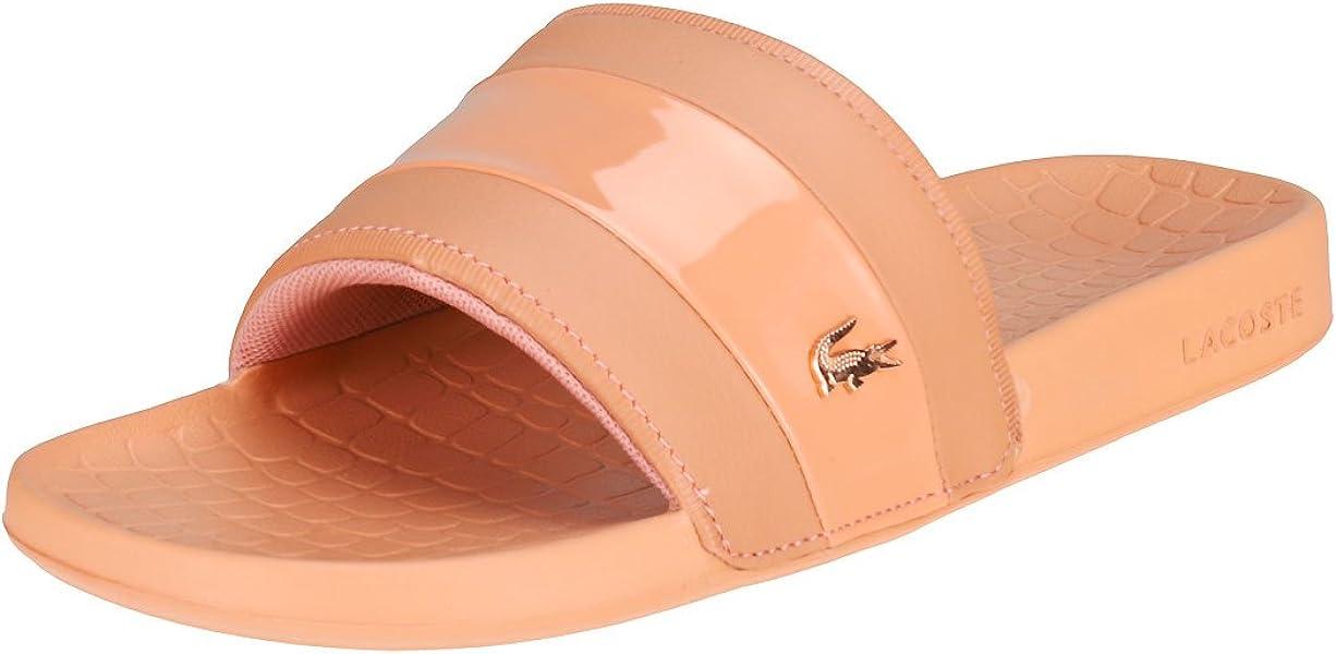 9b0d342fe Lacoste Fraisier 118 2 U Womens Slide Pink - 4 UK  Amazon.co.uk ...