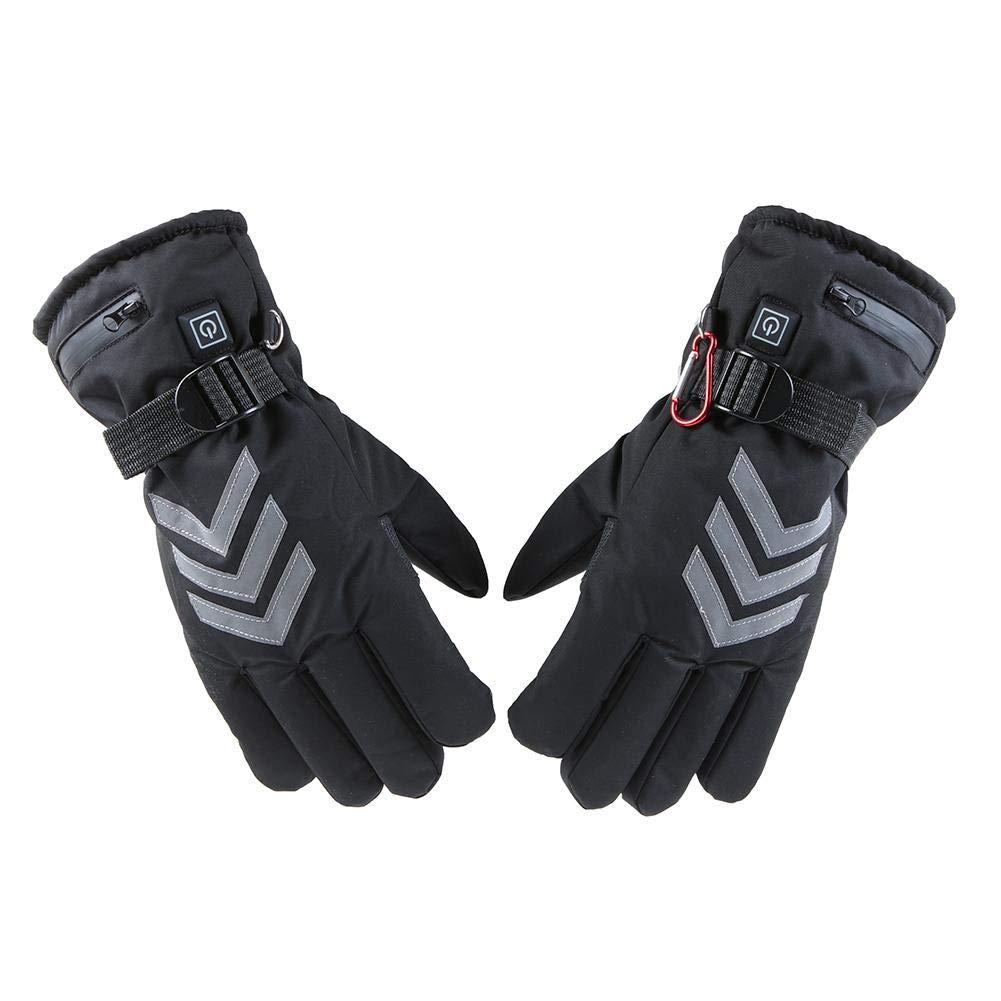 Motorradhandschuhe Handschuhe f/ür Elektroautos. Hangarone/Beheizte Handschuhe elektrische Heizung Dreistufenthermostat reflektierende Handschuhe