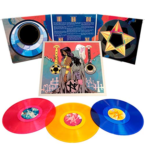 Pyre: Original Soundtrack - Exclusive Limited Edition Autographed Pink,Yellow And Blue 3xLP Vinyl Set