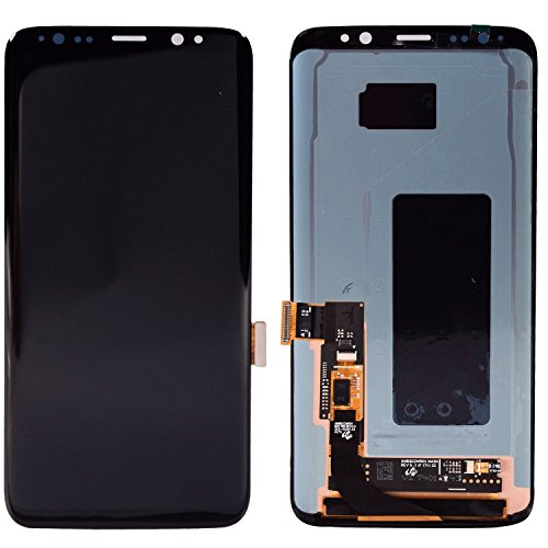 For Samsung Galaxy S8 LCD Digitizer Screen Touch Assembly Replacement LCD Display Midnight Black 5.8 inch by SpeedyGadget by speedygadget (Image #2)