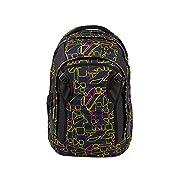 satch match Schulrucksack – ergonomisch, erweiterbar auf 35 Liter, extra Fronttasche