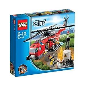 LEGO City 60010 - Helicóptero de Bomberos: Amazon.es: Juguetes y ...