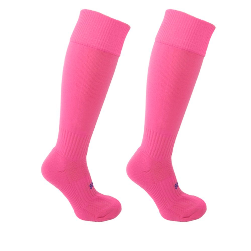 STAY UP Kid's Sports Socks 2 Pairs from Little Grippers – Pink MED 11+ yrs