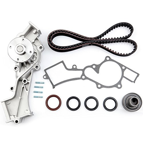 - ECCPP Timing Belt Water Pump Kit Fit for 1996-2004 Nissan Frontier Xterra Pathfinder Infiniti QX4 3.3L V6 SOHC 12 Valve VG33E VG33ER Engine