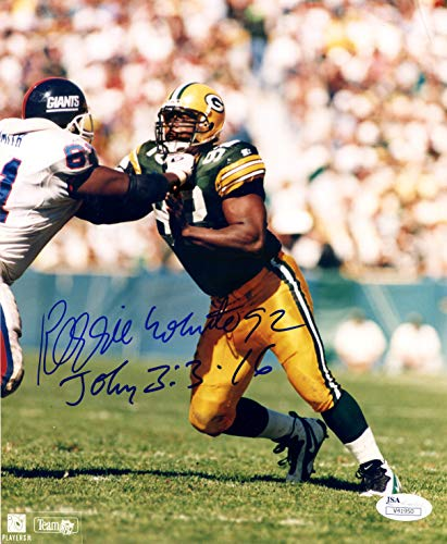 (Reggie White Green Bay Packers Signed Autographed 8