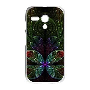 Custom Phone Case with Fluorescence Image On The Back Fit To Motorola Moto G
