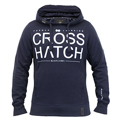 Mens Sweatshirt Crosshatch Sevcon Navy Uk Large Us Medium
