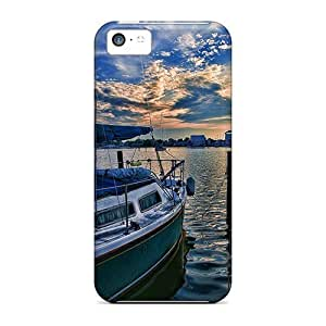 Sunset For Iphone 5c- PC cell phone skin cases miao's Customization case