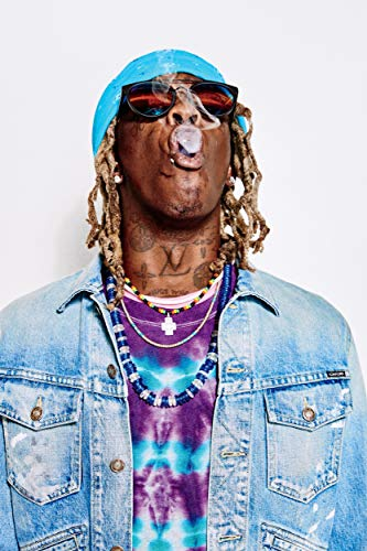 Mile High Media Young Thug Canvas Poster 13x19 Inch Fine Art Color Print Wall Art Decor