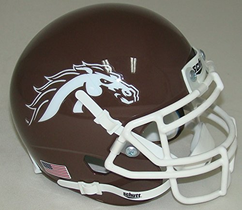 Western Michigan Broncos Alternate Brown Schutt Authentic Mini Helmet