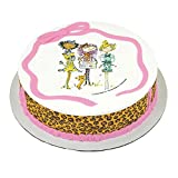 Lucks 48455 Haute Girls Birthday Edible Image - 12 / BX
