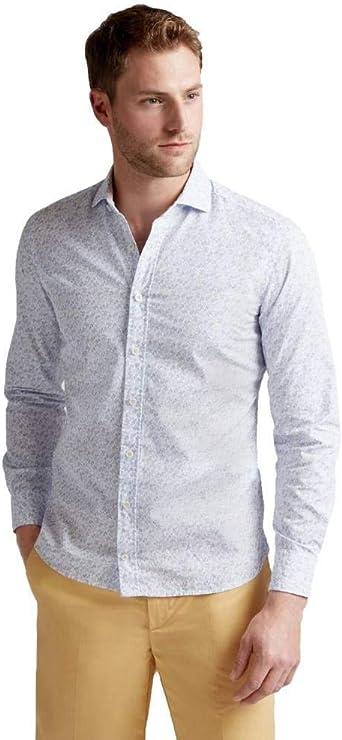Camisa Hackett con Estampado Playero para Hombre: Amazon.es: Ropa y accesorios