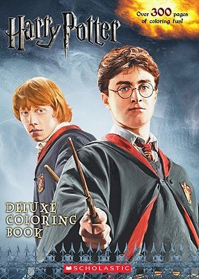 Harry Potter Deluxe Coloring Book   [COLOR BK-HARRY POTTER DLX COLO] ()