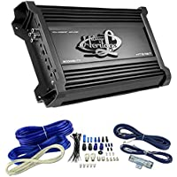 LANZAR HTG157 3000W Mono MOSFET Car Audio Power Amplifier Stereo 2 Ohm+Amp Kit