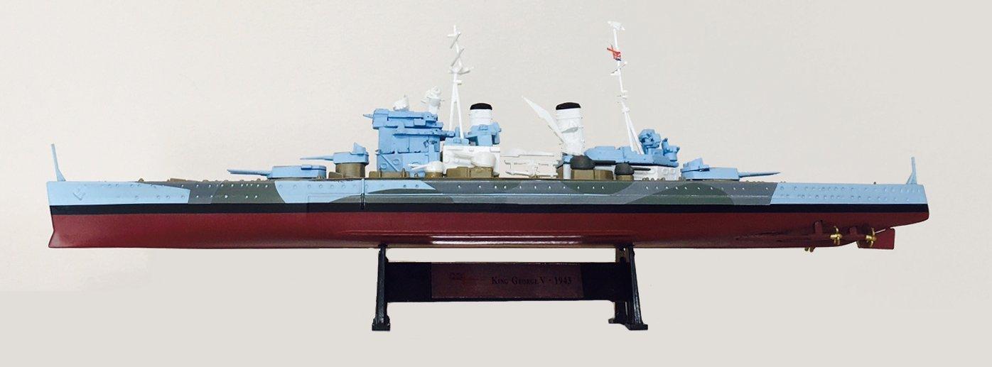 Amercom ST-7 KING George V 1943-1:1000 Ship Model