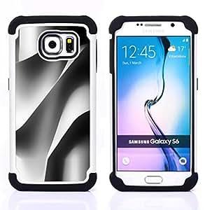 """Pulsar ( Ingeniería de Edificación Arquitectura Papel"""" ) Samsung Galaxy S6 / SM-G920 SM-G920 híbrida Heavy Duty Impact pesado deber de protección a los choques caso Carcasa de parachoques [Ne"""