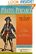 #7: The Pirates of Penzance: or The Slave of Duty Vocal Score