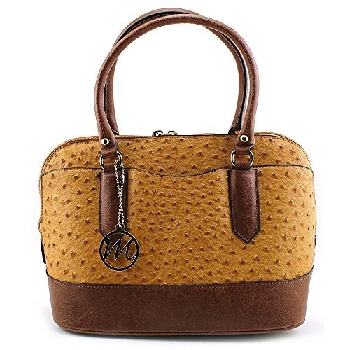 emilie-m-linda-dome-satchel-top-handle-bag-amber-cognac-one-size