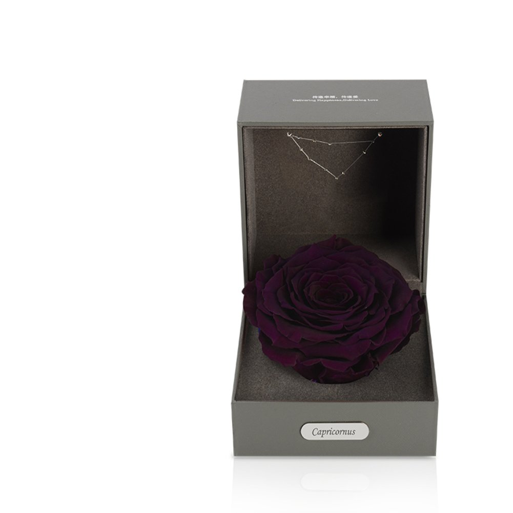 Imported Live Flower Gift Box/Fresh Colorful Roses/ Birthday Gift For Mother's Day-D