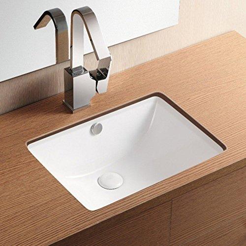 30%OFF Caracalla Caracalla CA4070-No Hole-637509834739 Ceramica II Collection Bathroom Sink, White