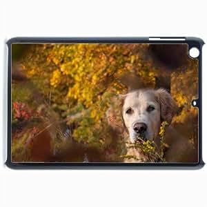 Customized Back Cover Case For iPad Mini 2 Hardshell Case, Black Back Cover Design Dog Personalized Unique Case For iPad Mini 2