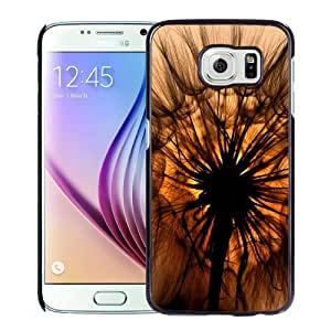 New Personalized Custom Designed For Samsung Galaxy S6 Phone Case For Dandelion Silhouette Phone Case Cover