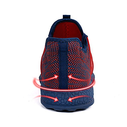 Running Fashion Athletic Red Blue Breathable Sneakers Shoes Feetmat Womens Ultra Mesh Lightweight gn5v8q0