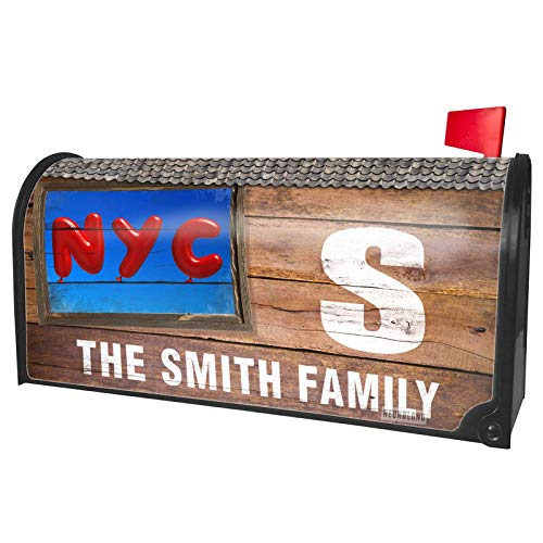 NEONBLOND Custom Mailbox Cover NYC Red Balloon -