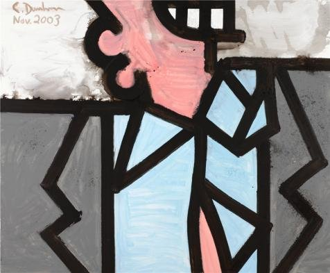 'Carroll Dunham,Particular Aspects,2003' Oil Painting, 20x24 Inch / 51x62 Cm ,printed On High Quality Polyster Canvas ,this Amazing Art Decorative Prints On Canvas Is Perfectly Suitalbe For Bar Artwork And Home Decor And (Revolution Dance Costumes 2015)
