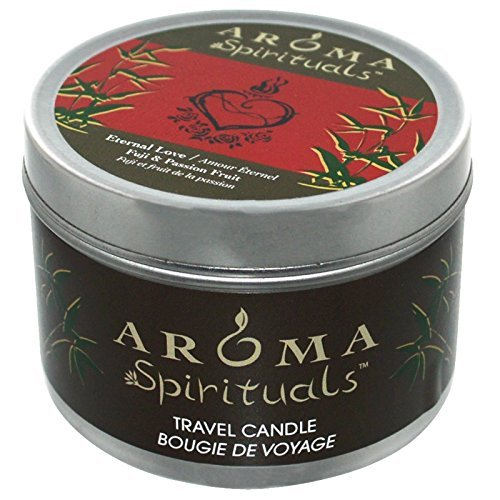 Aroma Naturals, Spirituals, Travel Candle, Eternal Love, Fuji & Passion Fruit, 6.5 oz (184.27 g) by Aroma Naturals
