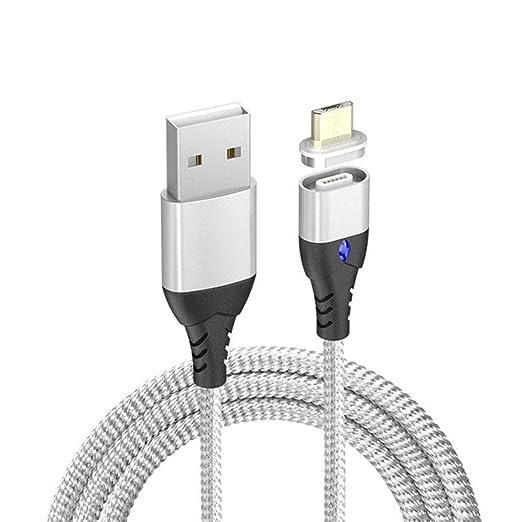 Carga USB Tipo C 8 Pin Imán reemplazo magnética Línea de Cable ...