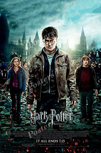 Amazon.com: Carteles EE. UU. – Póster de la película Harry ...