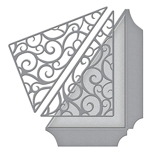 Spellbinders S4-612 Shapeabilities Filigree Side Pocket Etched/Wafer Thin Dies