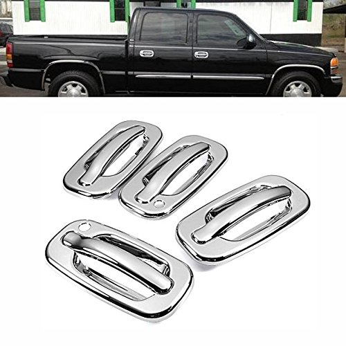 Hot Chrome Durable Side Door Handle Cover Trim For Chevy Avalanche Silverado Suburban Tahoe Cadillac Escalade GMC Sierra Yukon / Yukon XL / Yukon Denali