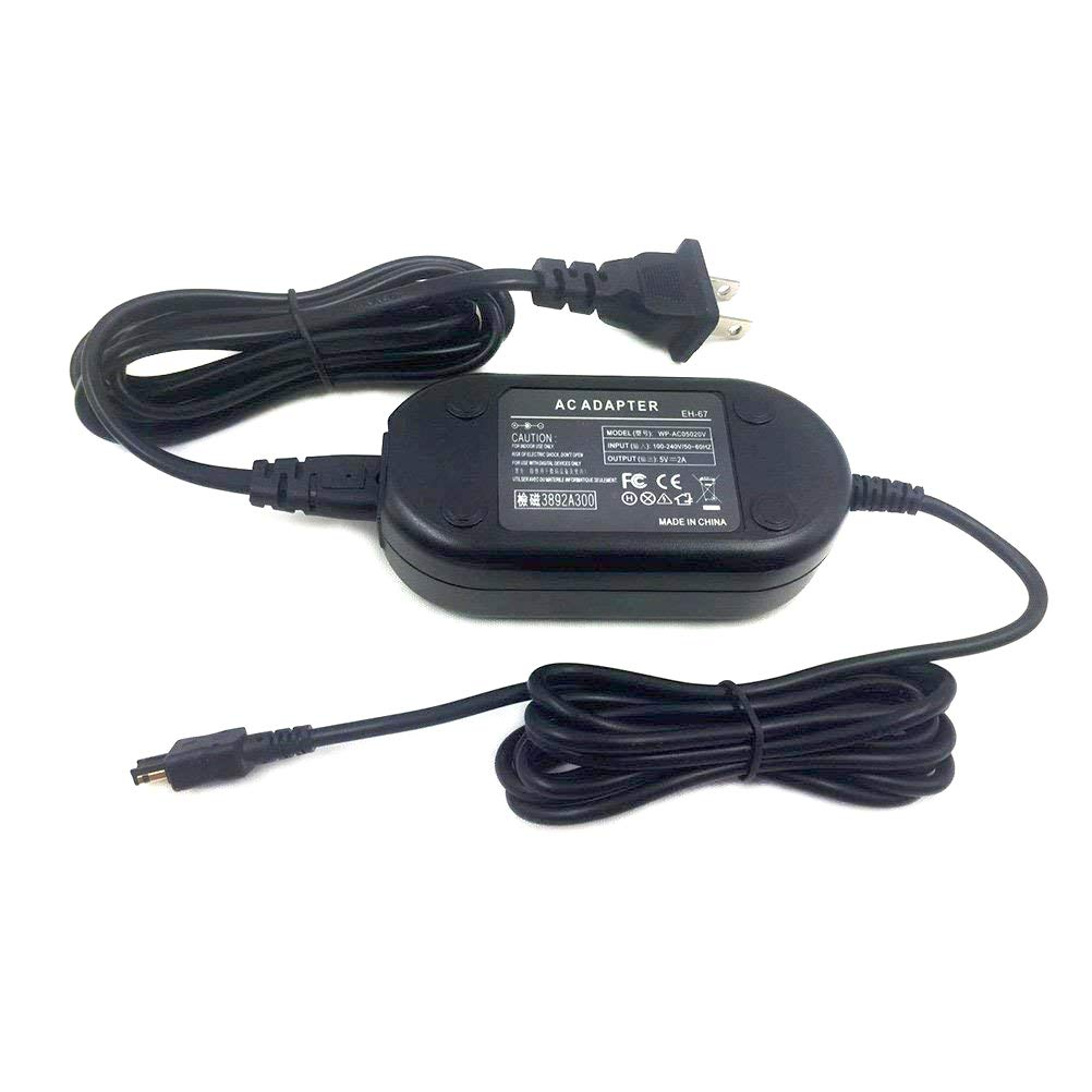 EH-67 Replacement AC Power Adapter Gonine For Nikon Coolpix L840, L830, L820, L810, L340, L330, L320, L310, L120, L110, L105, L100, Coolpix B500 Digital Cameras.