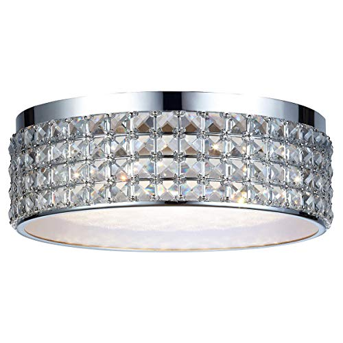 DSI Lighting Callisto Crystal Ceiling LED Flush Mount