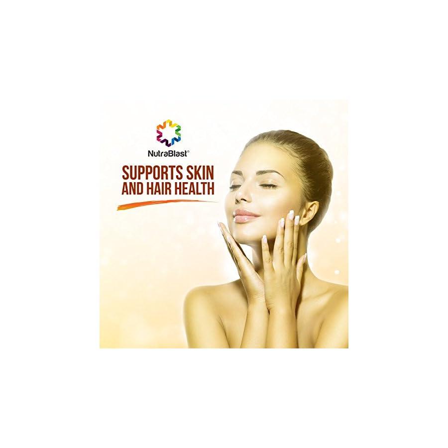 NutraBlast Vitamin A & D3 10,000IU/400IU Retinol Palmitate and Cholecalciferol Supports Bone, Eye, Skin, Hair, Heart and Other Organs Health Made in USA (100 Softgels)