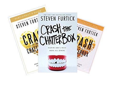 Steven Furtick - Crash the Chatterbox FULL SET (Book + DVD + Study Guide -  Multnomah