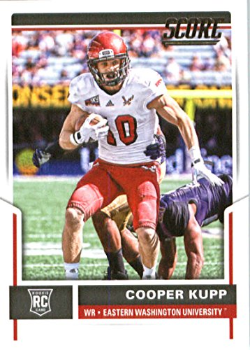2017 Score #416 Cooper Kupp Eastern Washington Eagles Rookie Football Card