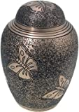 butterfly urn - Cremation Urn: Golden Butterflies 6
