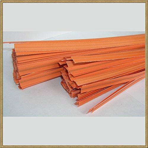 114 Pull (100pcs Plastic/paper Coated Orange 4