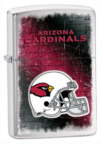 Personalized NFL ARIZONA CARDINALS Zippo Lighter - Free Engraving